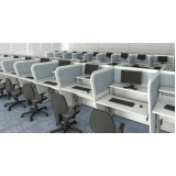 mesa ergonômica para call center Interlagos